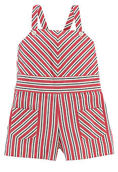 Ralph Lauren Childrenswear Stripe Romper Toddler Girls