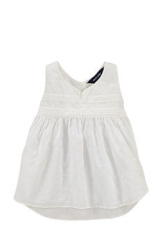 Ralph Lauren Childrenswear Dobby Tank Toddler Girls