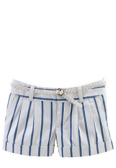Ralph Lauren Childrenswear Striped Chino Shorts Toddler Girls