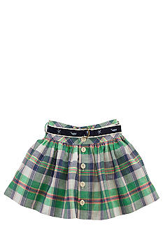 Ralph Lauren Childrenswear Preppy Plaid Skirt Toddler Girls
