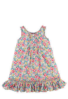 Ralph Lauren Childrenswear Floral Babydoll Dress Toddler Girls