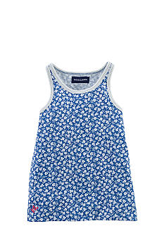 Ralph Lauren Childrenswear Floral Print Tank Toddler Girls