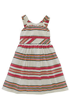 Ralph Lauren Childrenswear Retro Stripe Sundress Toddler Girls