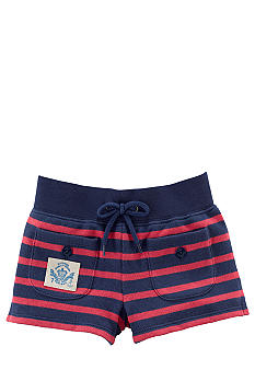 Ralph Lauren Childrenswear Nautical Stripe Short Toddler Girls