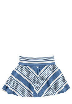 Ralph Lauren Childrenswear Diagonal Stripe Skirt Toddler Girls