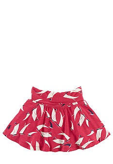 Ralph Lauren Childrenswear Sailboat Print Skirt Toddler Girls