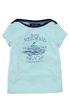 Ralph Lauren Childrenswear Nautical Stripe Tee Toddler Girls