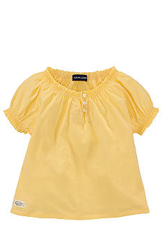 Ralph Lauren Childrenswear Smocked Peasant Top Toddler Girls