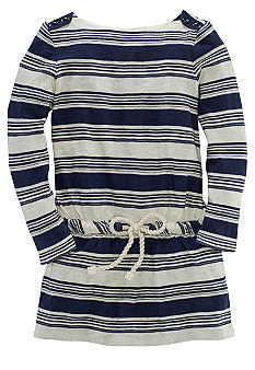 Ralph Lauren Childrenswear Boatneck Striped Dress Toddler Girls