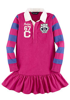 Ralph Lauren Childrenswear Rugby Dress Toddler Girls