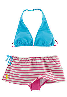 Ralph Lauren Childrenswear Stripe 2-piece Swimsuit Toddler Girls