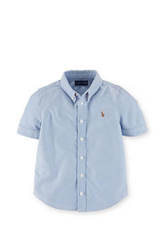 Ralph Lauren Childrenswear Oxford Button Down Shirt Toddler Girls