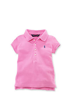 Ralph Lauren Childrenswear Mesh Polo Shirt Toddler Girls