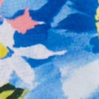 Ralph Lauren Girls: Blue/White Multi Ralph Lauren Childrenswear Floral Leggings Toddler Girls