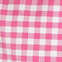 Ralph Lauren Girls: Pink Ralph Lauren Childrenswear 1 GINGHAM -LEGGING PINK/WHITE MULTI