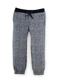 Ralph Lauren Childrenswear Floral Jogger Pant Toddler Girls