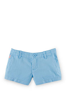 Ralph Lauren Childrenswear Cotton Chino Short Toddler Girls