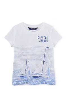 Ralph Lauren Childrenswear Graphic Tee Toddler Girls