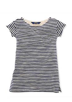 Ralph Lauren Childrenswear Stripe T-Shirt Dress Toddler Girls