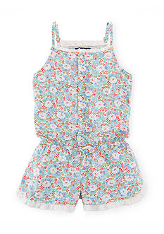 Ralph Lauren Childrenswear Floral Romper Toddler Girls