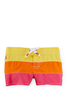Ralph Lauren Childrenswear Stripe Board Shorts Toddler Girls