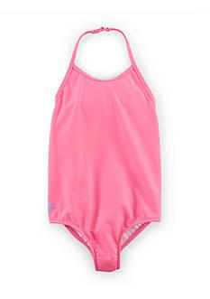 Ralph Lauren Childrenswear Halter Swimsuit Toddler Girls