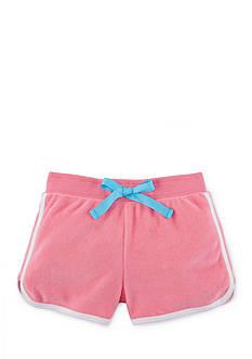 Ralph Lauren Childrenswear Cotton-Blend Terry Short Toddler Girls