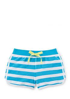 Ralph Lauren Childrenswear Stripe Terry Short Toddler Girls
