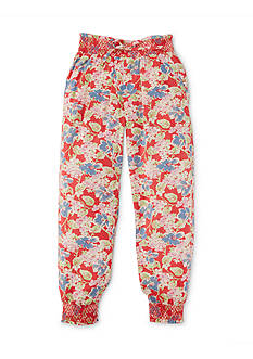 Ralph Lauren Childrenswear Floral Pants Toddler Girls