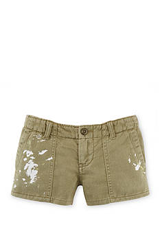 Ralph Lauren Childrenswear Cargo Short Toddler Girls