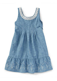 Ralph Lauren Childrenswear Chambray Dress Toddler Girls