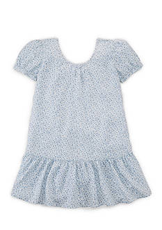 Ralph Lauren Childrenswear Floral Swing Dress Toddler Girls
