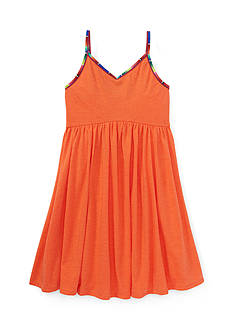 Ralph Lauren Childrenswear Sleeveless Swing Dress Toddler Girl