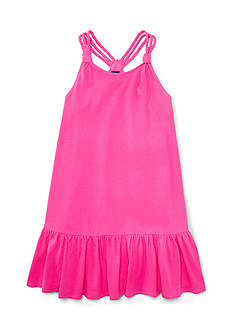 Ralph Lauren Childrenswear Spaghetti Strap Dress Toddler Girls