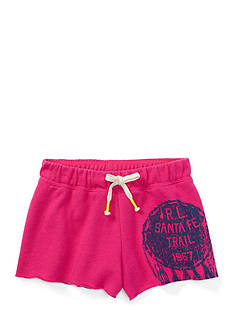 Ralph Lauren Childrenswear 3MAGIC FLEECE SHORT-BOTTM REGATTA PINK
