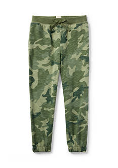 Ralph Lauren Childrenswear Camo Fleece Pant Toddler Girls