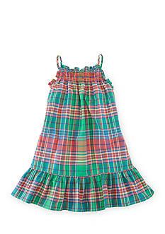 Ralph Lauren Childrenswear Plaid Sundress Toddler Girl