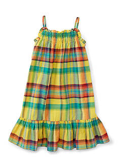 Ralph Lauren Childrenswear Plaid Sundress Toddler Girl
