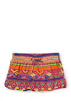 Ralph Lauren Childrenswear Graphic Track Short Toddler Girls