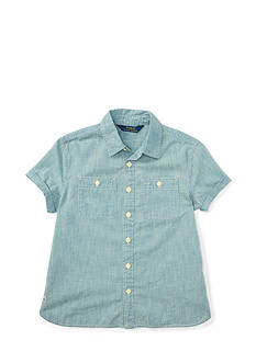 Ralph Lauren Childrenswear Chambray Top Toddler Girl