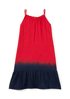 Ralph Lauren Childrenswear Jersey Dip Dye Maxi Dress Toddler Girl