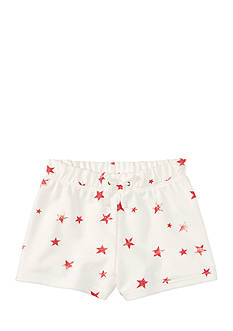 Ralph Lauren Childrenswear French Terry Star Shorts Toddler Girl