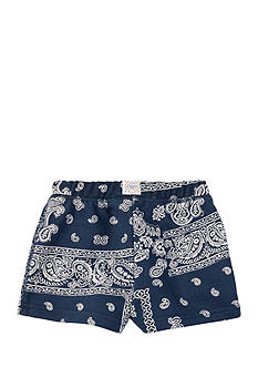 Ralph Lauren Childrenswear French Terry Bandana Shorts Toddler Girl