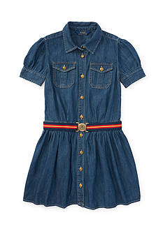 Ralph Lauren Childrenswear Denim Shirtdress Toddler Girls