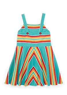 Ralph Lauren Childrenswear Stripe Dress Toddler Girls