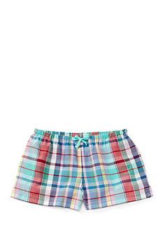 Ralph Lauren Childrenswear Plaid Short Toddler Girl