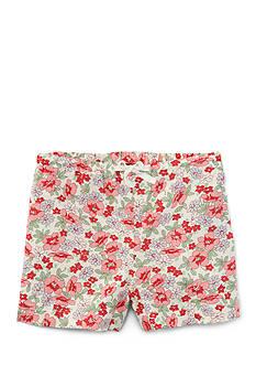 Ralph Lauren Childrenswear Floral Short Girls Toddler Girl
