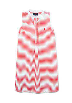 Ralph Lauren Childrenswear Stripe Bengal Dress Toddler Girl