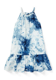 Ralph Lauren Childrenswear Tie Dye Dress Toddler Girl