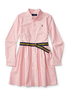 Ralph Lauren Childrenswear Oxford Dress Toddler Girl